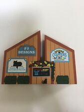 Cat's Meow Village Sign Maker Collectible Collector Club #285