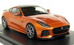 TSM 1/43 Jaguar F-Type SVR Coupe Firesand Metallic - Resin Scale Model Car