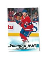 2019-20 UPPER DECK #226 RYAN POEHLING YG RC UD YOUNG GUNS ROOKIE CANADIENS