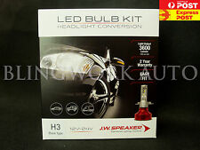 JW Speaker Model 3600 H3 6200k white Driverless LED Headlight Kit