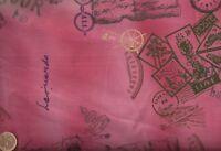 Travel Paris tour pink Art Gallery fabric