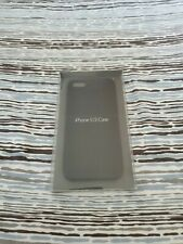 Original Apple iPhone leather case For 5s in Black new in a box