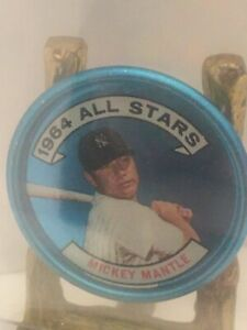 1964 All Star Coin # 131 Mickey Mantle BB1 CT
