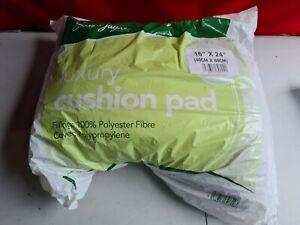 "Sarah Jayne Luxury Cushion Pad Inner 40cm x 60cm(16"" x 24"") 100% Polyester Fibre"