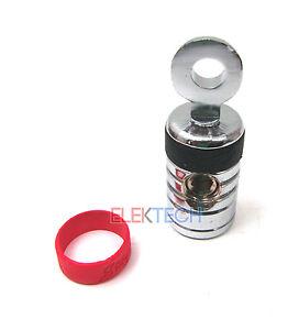 """Stinger SPT520 Ring Terminal 1/0ga Gauge Input to 5/16"""" Ring Shoc-Krome Plating"""