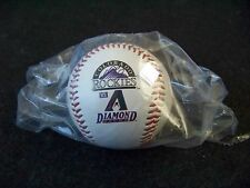 2006 Arizona Diamondbacks Colorado Rockies Opening Day baseball ball