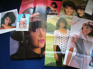 1980s Phoebe Cates 8 Posters & postcard & clippings PARADISE GREMLINS