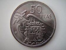 MONEDA de 50 PESETAS 1957 estrella *19-71. ESTADO ESPAÑOL/FRANCO.