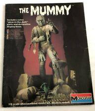 The Mummy Box Cover 1983 Monogram