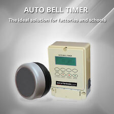 Automatic Industrial Lunch Time Bell System