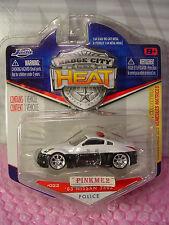 2010 Badge City Heat #22 '03 NISSAN 350Z☆Japan POLICE☆Black&White☆Jada Wave 3