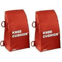 "New Martin Baseball Softball Catchers Knee Savers Cushions Pads >5'7"" Red Adult"