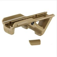 Tactical Angled Foregrip Front Fore Grip with Finger Shelf F Picatinny Quad Rail