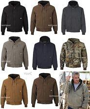 DRI DUCK Hooded Canvas Camo Work Jacket 5020 S-6XL Cheyenne Hooded Boulder Cloth