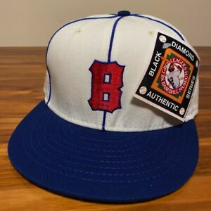 Baltimore Elite Giants Hat Baseball Cap Fitted 7 1/2 Vintage NBL Negro League