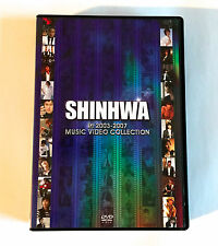 SHINHWA In 2003-2007 Music Video Collection JAPAN 3DVD Shin Hye Sung Lee Min Woo