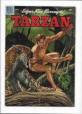"TARZAN #66  [1955 GD-VG]  ""THE TREK OF THE BOLGANI"""