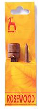 LUXURY PONY PALISSANDRO knitting Needles una coppia 7mm 35cm