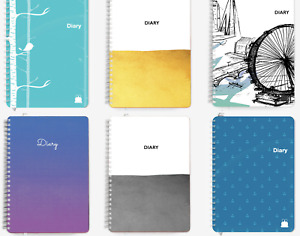A5 & A4 Daily Mid-Year Academic Diary. Page per Day/ Day to a Page | 2020-2021 |