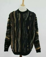 COOGI 100% Pure New Wool Vintage Pullover Jumper size XL