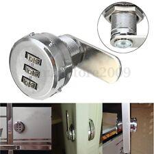 20mm Alloy Digital Code Combination Cam Lock Keyless Post Mailbox Cabinet Drawer
