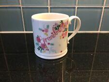 M&S Grandma Flower Design Large Mug Exc Cond Marks & Spencer Grand Parent