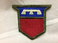 Vintage Military Army 76th Infantry Division Patch Badge White Back Variant 76