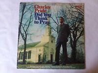"""Charley Pride Did you Think To Pray LSP 4513 RCA 1971 12"""" Vinyl LP"""