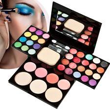 Eyeshadow Makeup Kit 39 Colors Palette Lip Gloss Foundation Powder Blusher Set