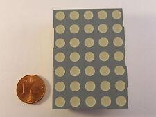 """50mm (2,0"""") 5x7 Dot Matrix Display Kingbright TA20-11EWA, rot, gem. Anode"""