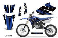 Yamaha Graphic Kit AMR Racing Bike Decal YZ85 Decal MX Parts 2002-2014 ATTK BLUE