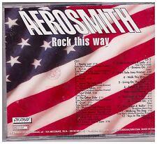 "Aerosmith ""Rock this way"" live   NUOVO"