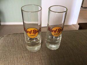 2 Hard Rock Cafe Shot Glasses