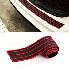 """Car Rear Bumper Protector Trunk Sill Plate Guard Scuff Trim Cover Rubber Pad 35"""""""
