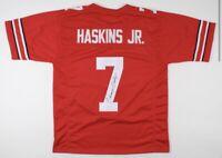 Dwayne Haskins Autograph Signed Jersey w/ JSA COA Ohio State, Pittsburgh Steeler