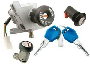 Juego kit cerraduras llaves cerrajas APRILIA SCARABEO 125 (2004-2008)