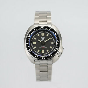 STEELDIVE Diver Willard Turtle SD1970 6105 Homage Mechanical Automatic Watch