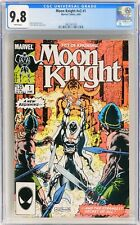 D186. MOON KNIGHT V2 #1 CGC 9.8 NM/MT (1985) Debut of new Moon Knight costume