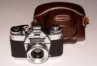 EXC! Voigtlander VSL1 35 mm SLR Camera Germany METER WORKS!
