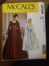 McCall pattern Steampunk Victorian Costume  gown Camelot Wedding Dress Sz 6-14