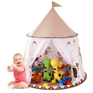 Kids Play Tent Indoor Outdoor Fun Portable Playhouses Birthday Christmas Gift