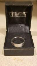 Mens/Unisex Palladium 950 Band Ring Size 6