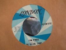 THE ROLLING STONES GET OFF MY CLOUD / IM FREE ON LONDON RECORDS