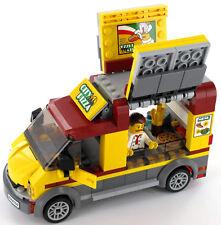 Lego City Pizza voiture avec vendeur/chauffeur, NEUF