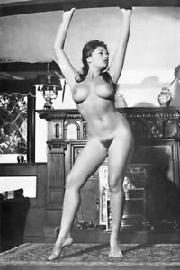 Vintage 1960's Art photography Nude Woman 4X6 Photo Model Pin Up 51249993986