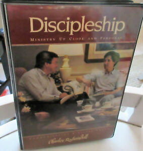 Charles Swindoll  Discipleship  Ministry Up Close & Personal         6 cassettes