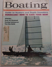 Popular Boating Magazine Guide To Heaters Depth Sounders September 1965 123114R2