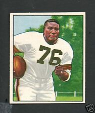 1950 Bowman Football Card #43 Marion Motley-Cleveland Browns