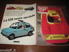 AUTOSPRINT 1974/11=ABARTH=FIAT 126=RALLY GHIACCIO CHAMONIX=