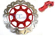 CR 250 CRF X 250 450 CRF R 450 320mm Front brake Disc Rotor Brkt H DR19+